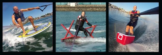 Klarich Equipment Water Skiing Disc Ice Chest
