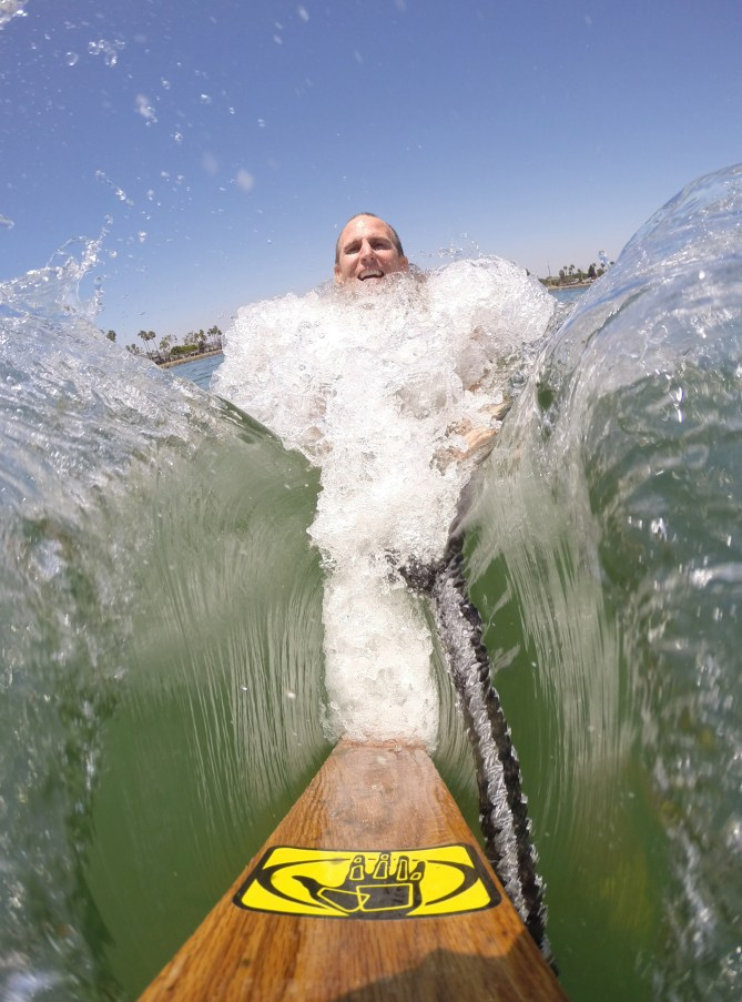 tony klarich parting red sea moses gopro body glove water skiing paling