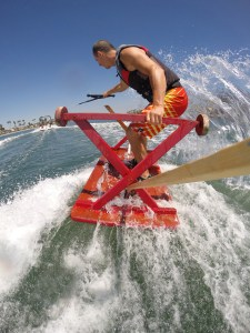 tony klarich wacky water skiing picnic table go pro