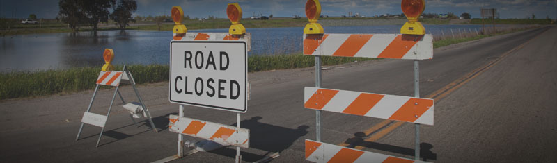 Road Closed - Original photo by Robert Couse-Baker