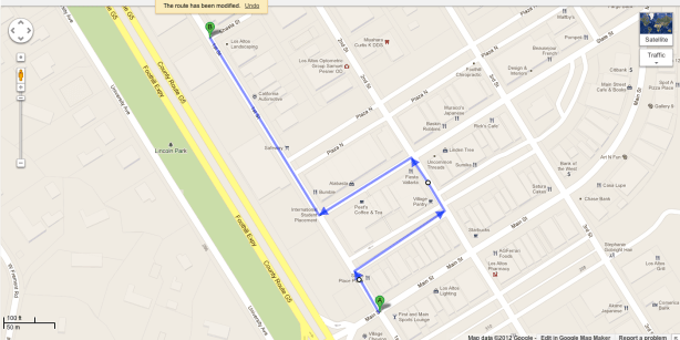 Second Try at Google Directions