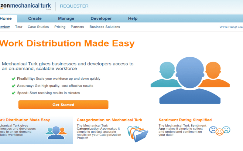 Social Entrepreneur review on Mechanical Turk