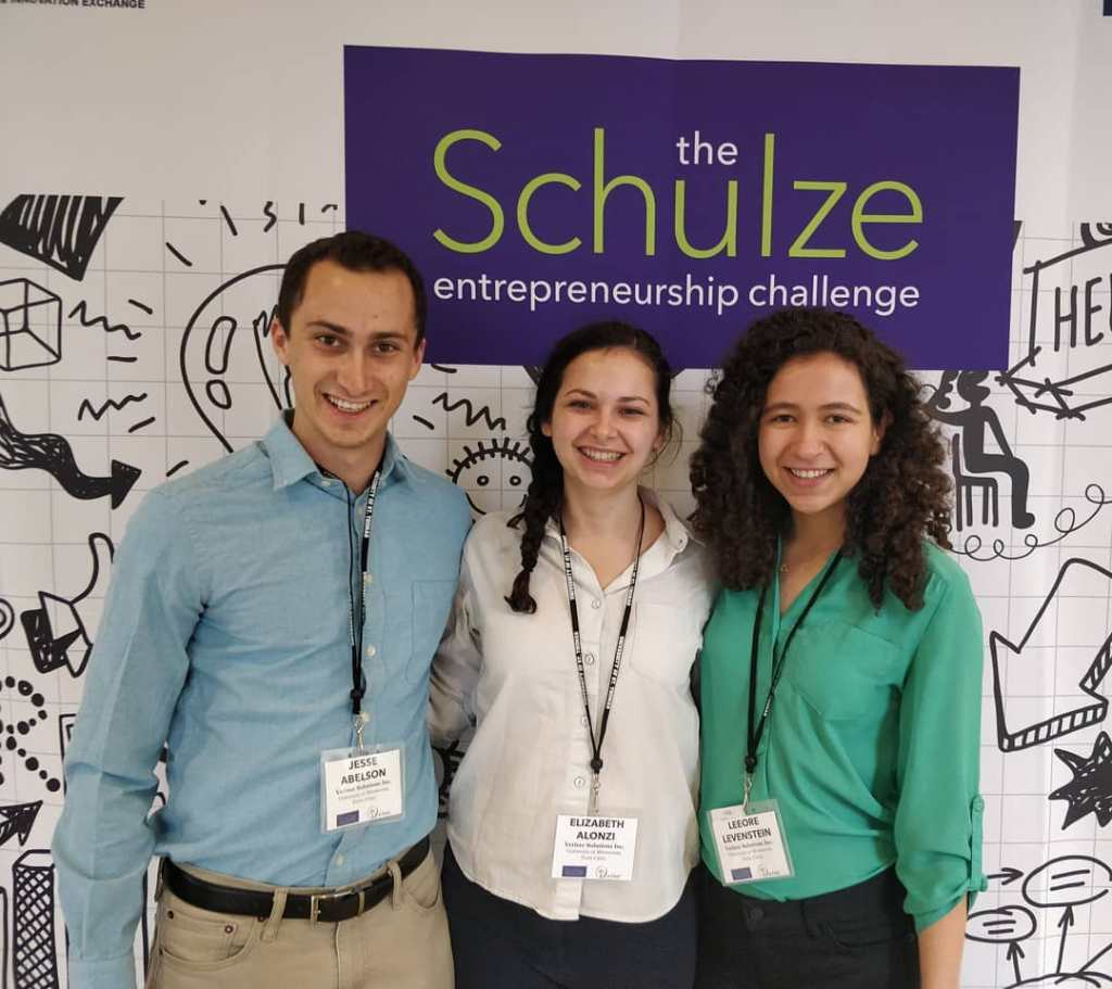Jesse Abelson (L), and Elizabeth Alonzi (C), and Leeore Levinstein (R), Vetiver Solutions
