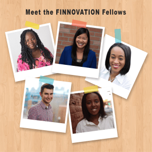 Meet the FINNOVATION Fellows, with Katrina Becker