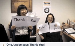 One Justice Thank You 2
