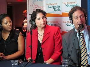 Yolanda Johnson, Tracey Drayer & Neill Bogan at Fundraising Day 2014.JPG