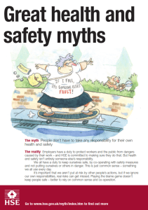 Health & Safety Poster - Take Responsibility