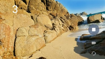Accidental Favourite at Porthcurno, England