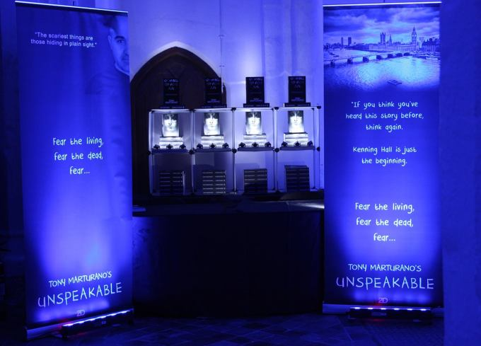 Unspeakable by Tony Marturano, book launch