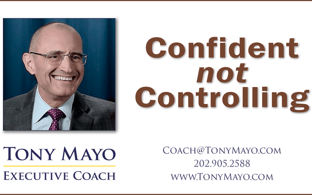 VIDEO: Growing Beyond Control into Confidence