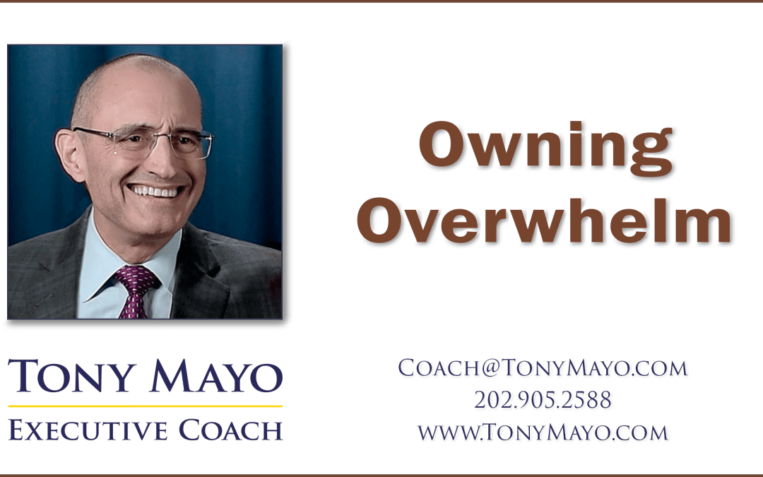 VIDEO: Curing Overwhelm