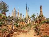Needing refubished stupas
