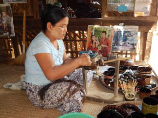Lacquerware making