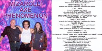 Mizarolli Axe Phenomenon, Purple Rain Album 2000.