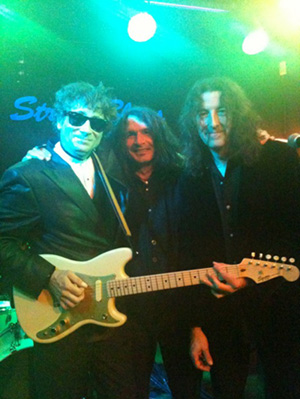 Tony Natale, Gywn Ashton, Stu Day, Charlotte Street Blues Bar, London.
