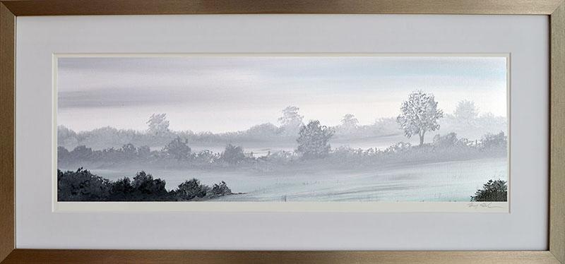 Misty Marshfield Morning