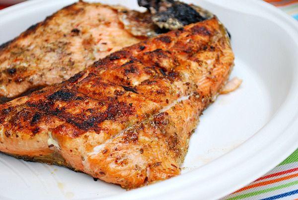 Clint's Baked Salmon