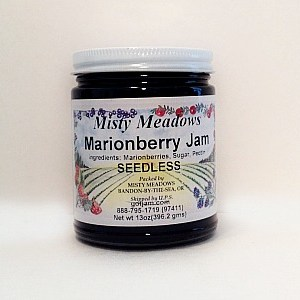 Misty Meadows Marionberry Jam
