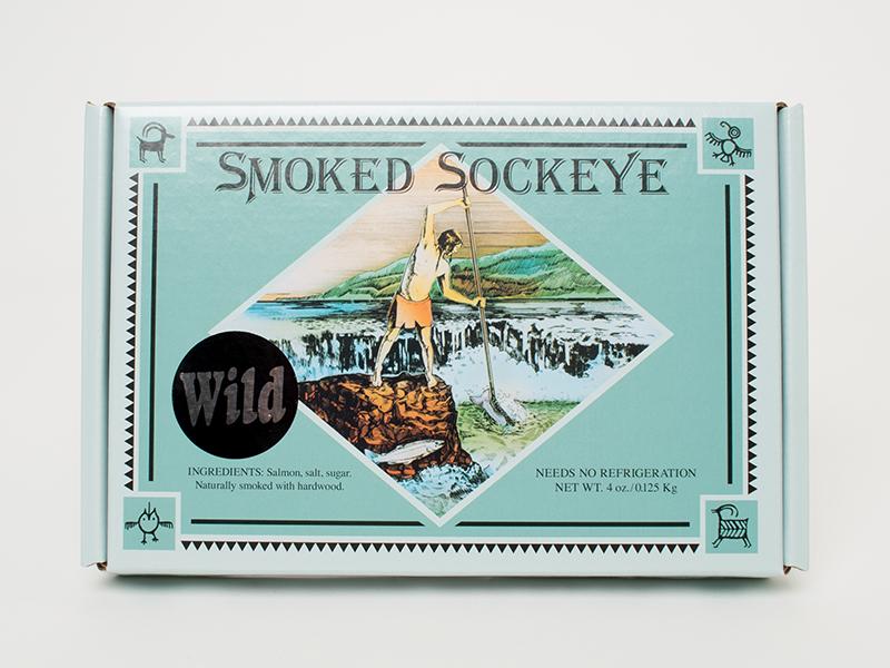 Tony's Smoked Sockeye Gift Box – 4 oz
