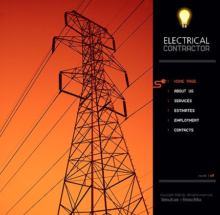 10 Most Popular Electrical Website Templates Tonytemplates Blog