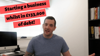 starting-a-business-in-debt