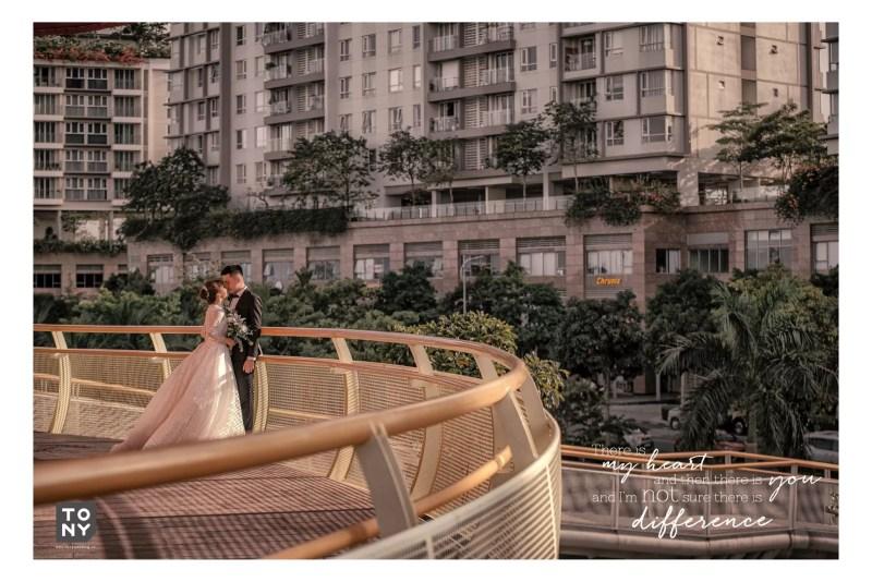 Album cưới Sài Gòn