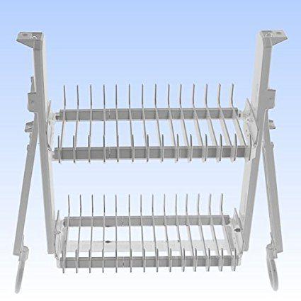 Drip Dry DDC20 Minimalist Cabinet Dish Rack Drying System