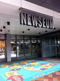 Photo of Newseum entrance