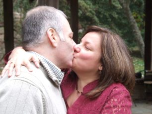 Tony & Missy seal marriage with kiss
