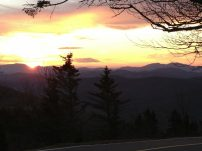 Sunset at Grandfather Mountain