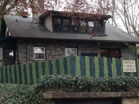 Asheville Green Cottage
