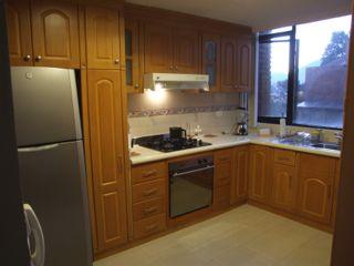 Kitchen in our Cuenca apartment - La Cuadra II