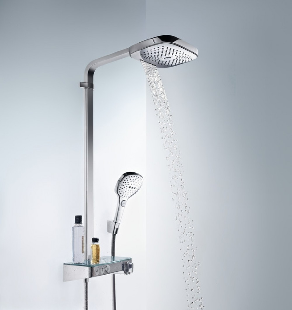 Hansgrohe Raindance Select E 300 3jet Showertablet Showerpipe