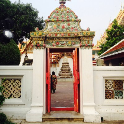 Red Door Temples Thailand by TooAndALee