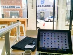 Working at Craft Coffee Newtown
