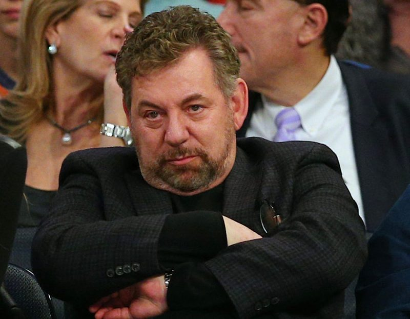 Photo of Knicks owner James Dolan refusing to file statement on ongoing Black Lives Matter protests doesn't surprise anyone