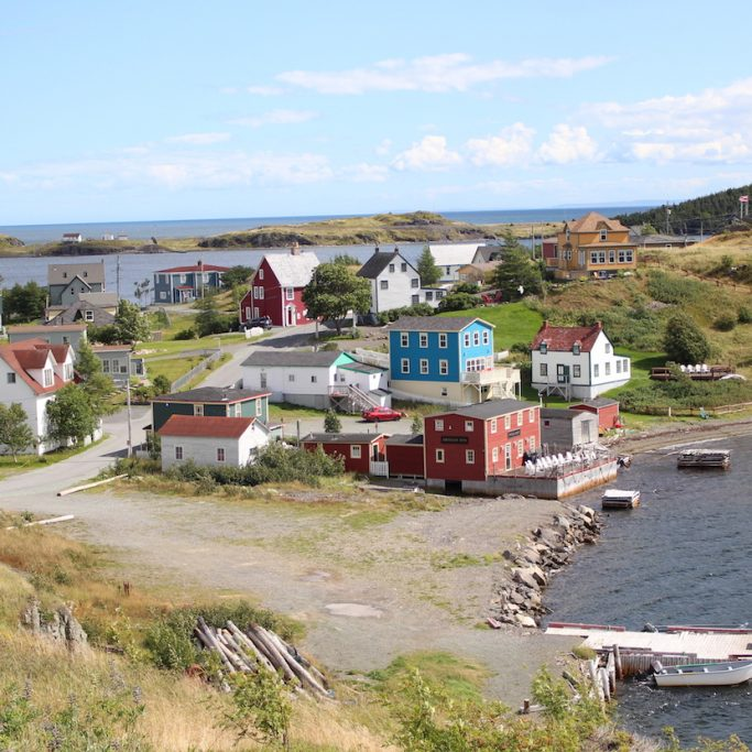The small town of Trinity in Newfoundland, Canada. By M. Leis
