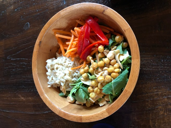 Salad bowl grain bowl