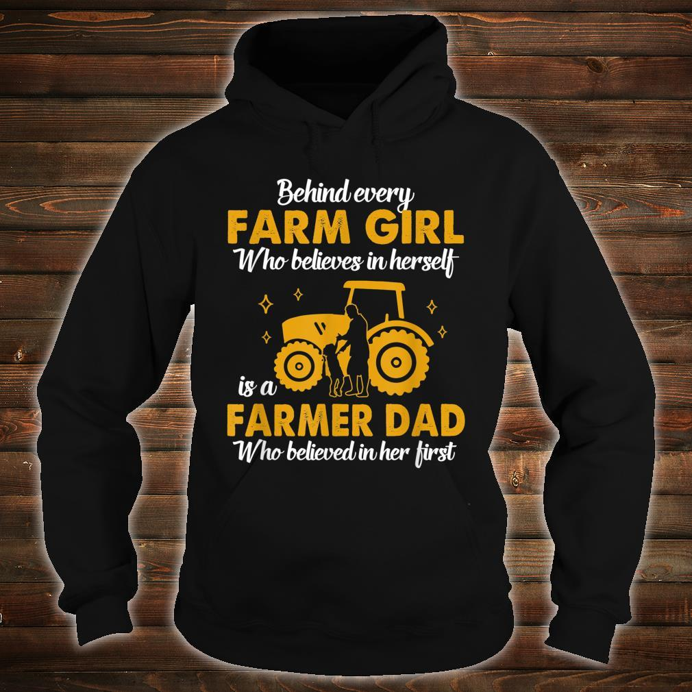A Farmer Dad Believed Country Girl Shirt hoodie
