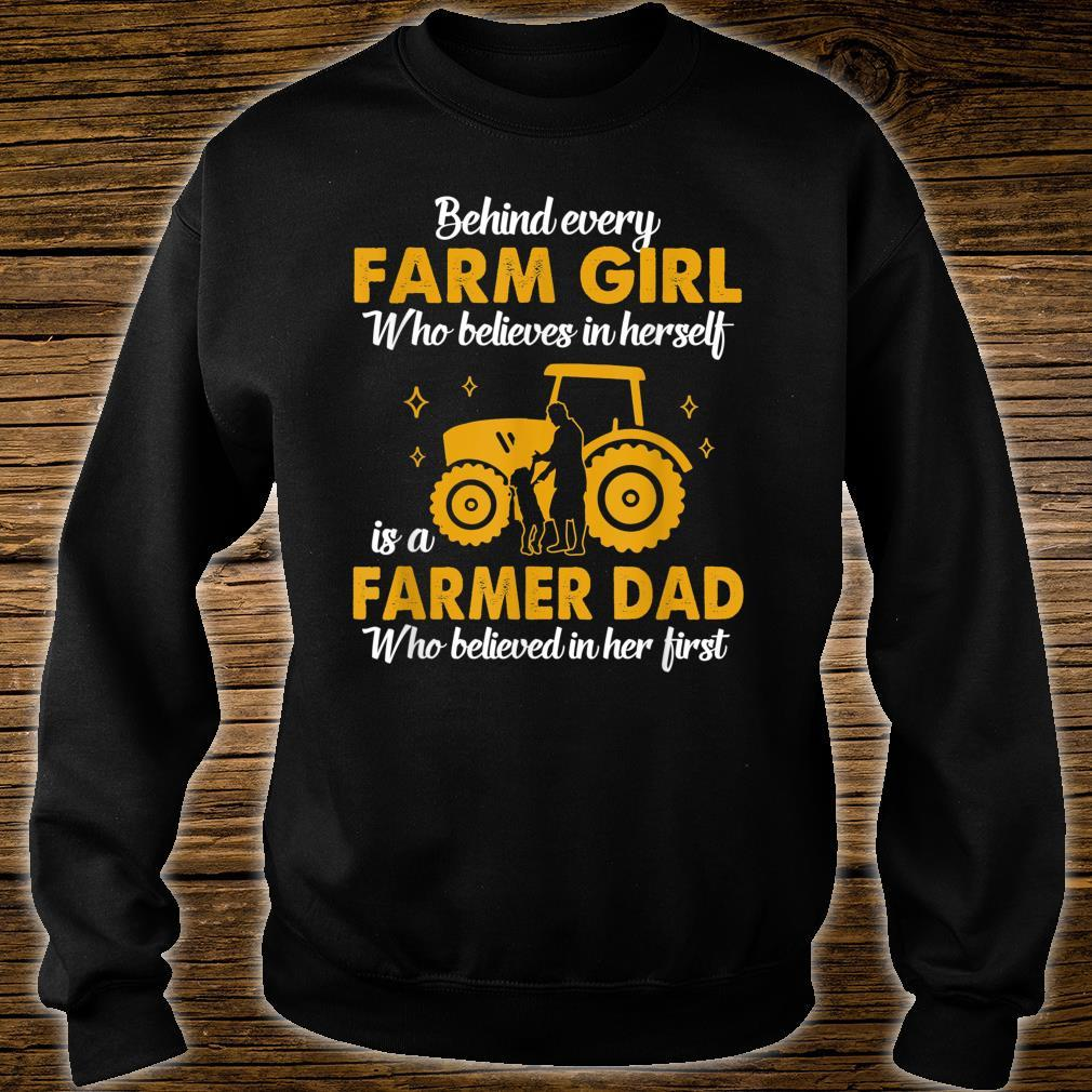 A Farmer Dad Believed Country Girl Shirt sweater