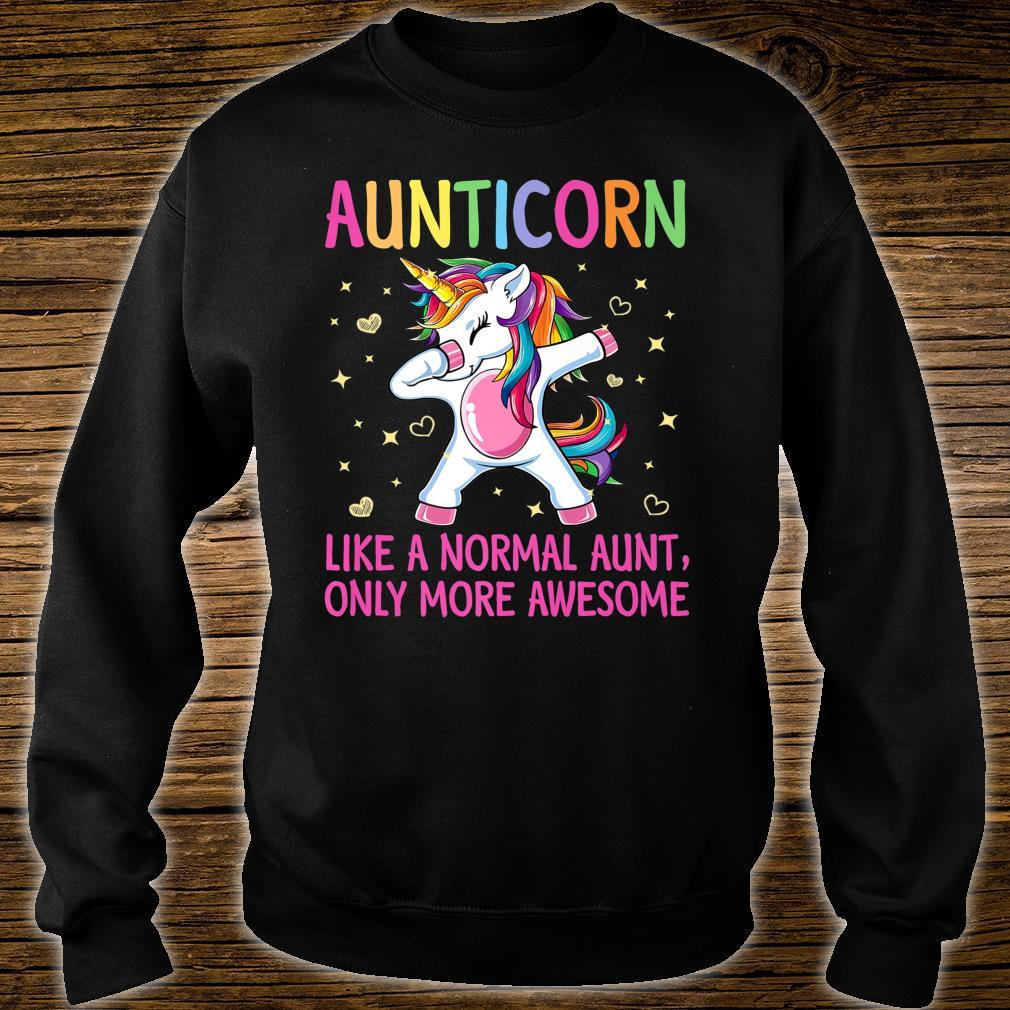 Aunticorn Like An Aunt Only Awesome Dabbing Unicorn Shirt sweater