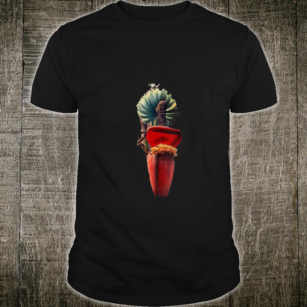 Banana Blossom, Flower, Banana, Tropical, Vegetarian Shirt