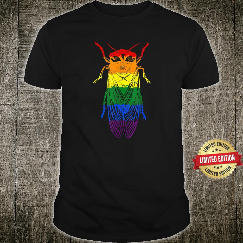 Cicada Brood X Cicada 2021 LGBTQ Pride Shirt