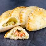 Chicken Pot Pie Empanadas