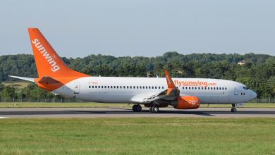 Photo of Boeing 737 struggles take off from Belfast