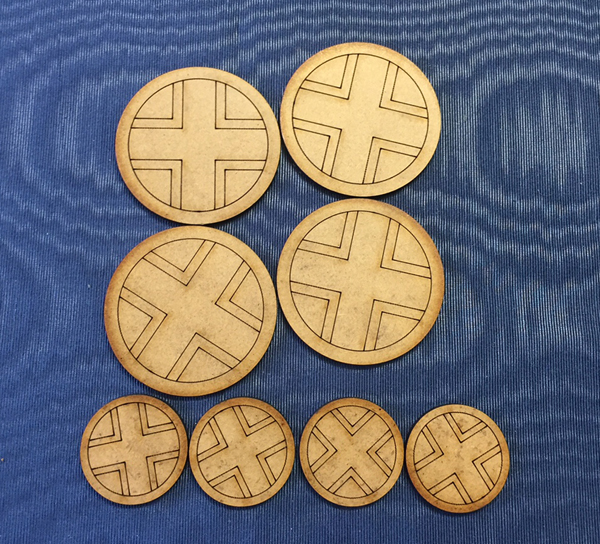 MDF Axis Patrol Markers and Jump Off Points