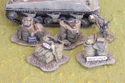 Chain of Command Jump-Off Markers