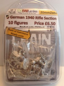 German 1940 Infantry Squad- 20mmZone