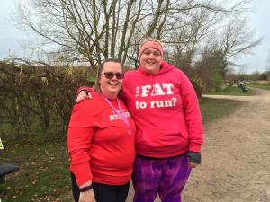 Two of our awesome graduates who met and decided to run their first parkrun together