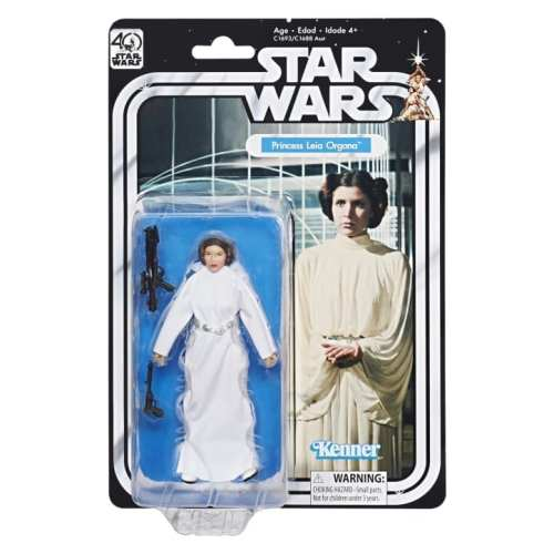 Figura Articulada Princess Leia Hasbro Kenner Star Wars 40th Aniversario
